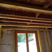 Studding out for walls and ceilings